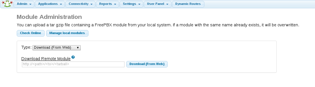 Dynamic Routes Installation instructions - voipsupport